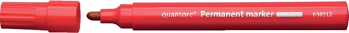 Permanent marker Quantore rond 1-1.5mm rood
