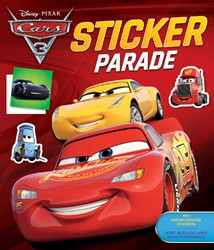 STICKERBOEK DISNEY PARADE CARS 3 1 STUK